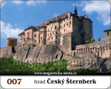 Magnetky: Hrad Český Šternberk