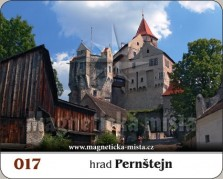 Magnetky: Hrad Pernštejn