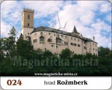 Magnetky: Hrad Rožmberk