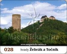 Magnetky: Hrady Žebrák a Točník