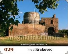 Magnetky: Hrad Krakovec