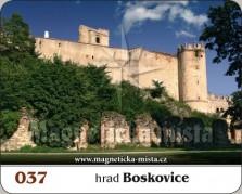Magnetky: Hrad Boskovice
