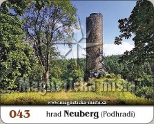 Magnetky: Hrad Neuberg (Podhradí)