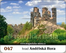 Magnetky: Hrad Andělská Hora