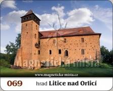 Magnetky: Hrad Litice nad Orlicí