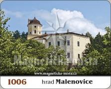 Magnetky: Hrad Malenovice
