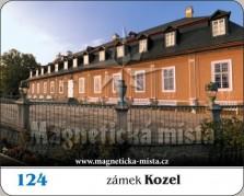 Magnetky: Zámek Kozel