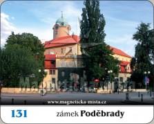 Magnetky: Zámek Poděbrady