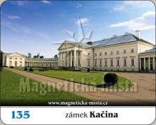 Magnetky: Zámek Kačina