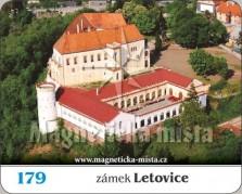 Magnetky: Zámek Letovice