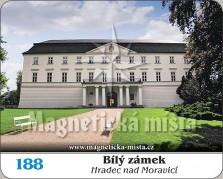 Magnetky: Hradec nad Moravicí - Bílý zámek