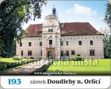 Magnetky: Zámek Doudleby nad Orlicí