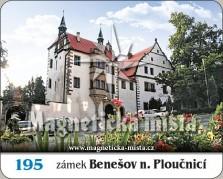 Magnetky: Zámek Benešov nad Ploučnicí