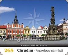 Magnetky: Chrudim - Resselovo náměstí