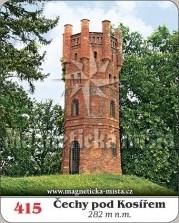 Magnetky: Rozhledna Čechy pod Kosířem
