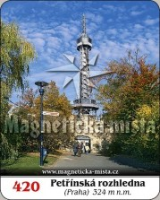 Magnetky: Petřínská rozhledna