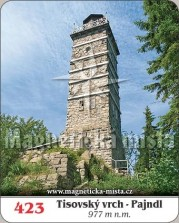Magnetky: Tisovský vrch - Pajndl