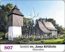 Magnetky: Kostel Sv. Jana Křtitele (Slavoňov)