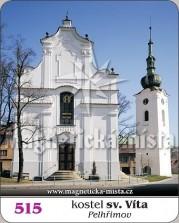 Magnetky: Kostel Sv. Víta (Pelhřimov)