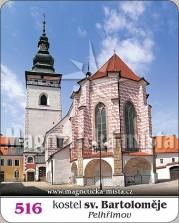 Magnetky: Kostel sv. Bartoloměje (Pelhřimov)