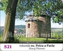 Magnetky: Rotunda sv. Petra a Pavla (Starý Plzenec)