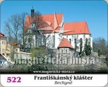 Magnetky: Františkánský klášter Bechyně