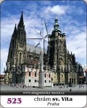Magnetky: Chrám sv. Víta (Praha)
