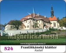 Magnetky: Františkánský klášter Kadaň