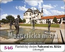 Magnetky: Piaristický chrám Nalezení sv. Kříže