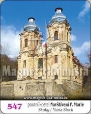 Magnetky: Poutní kostel Navštívení Panny Marie - Skoky