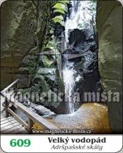 Velký vodopád - Adršpašské skály
