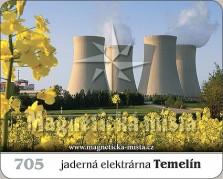 Magnetky: Jaderná elektrárna Temelín