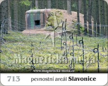 Magnetky: Pevnostní areál Slavonice