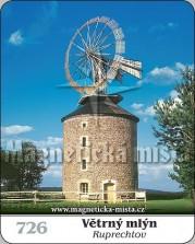 Magnetky: Větrný mlýn Ruprechtov