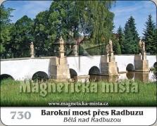Magnetky: Barokní most přes Radbuzu