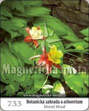 Magnetky: Botanická zahrada a arboretum - Horní hrad