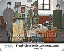 Magnetky: První vojenskohistorické muzeum M. Frosta