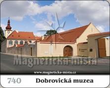 Magnetky: Dobrovická muzea