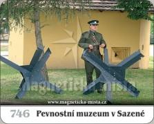 Magnetky: Pevnostní muzeum v Sazené