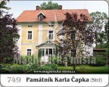 Magnetky: Památník Karla Čapka (Strž)