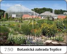 Magnetky: Botanická zahrada Teplice