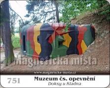 Magnetky: Muzeum čs. opevnění (Doksy u Kladna)