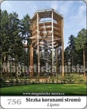 Magnetky: Stezka korunami stromů - Lipno