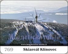 Magnetky: Skiareál Klínovec