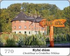 Magnetky: Rybí dům (Chotěbuz u Českého Těšína)