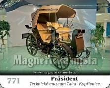 Magnetky: Präsident (Technické muzeum Tatra)