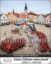 "Magnetky: Festival ""Pelhřimov - město rekordů"""