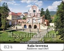Magnetky: Sala terrena (Klášterec nad Ohří)