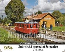 Magnetky: Zubrnická museální železnice