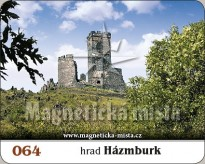 Magnetka Hrad Házmburk